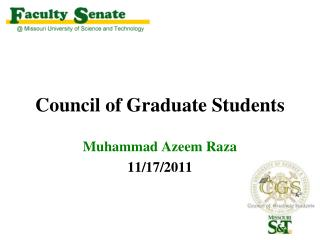 Council of Graduate Students