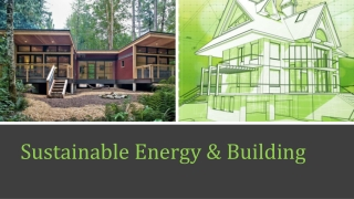Sustainable Energy & Building