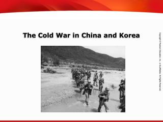The Cold War in China and Korea