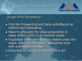 Sales Facilitation Process