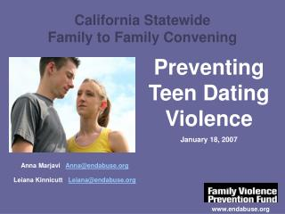 California Statewide Family to Family Convening
