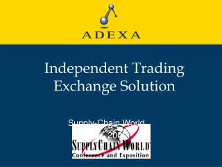 Independent Trading Exchange Solution