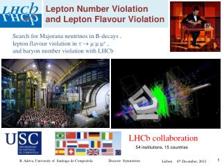 Lepton Number Violation and Lepton Flavour Violation