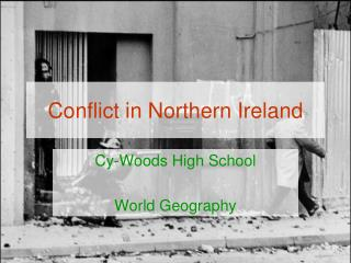 Conflict in Northern Ireland