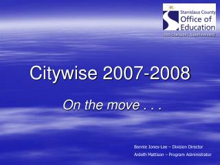 Citywise 2007-2008