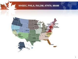 WHSDC, PHILA, RALDM, ATNTA, MIAMI
