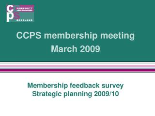 CCPS membership meeting March 2009