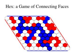 Hex: a Game of Connecting Faces