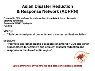 Asian Disaster Reduction & Response Network (ADRRN)