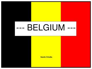 --- BELGIUM ---