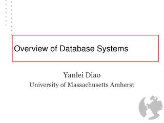 Overview of Database Systems