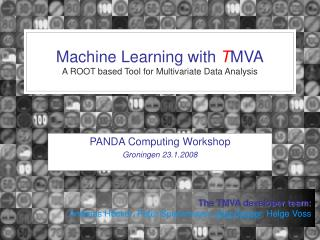 Machine Learning with  T MVA A ROOT based Tool for Multivariate Data Analysis
