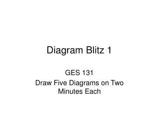 Diagram Blitz 1