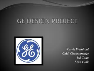 GE DESIGN PROJECT