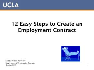 12 Easy Steps to Create an Employment Contract