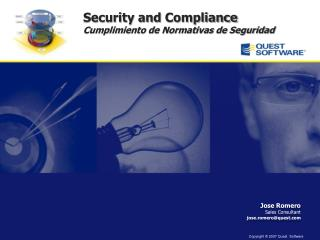 Security and  Compliance Cumplimiento de Normativas de Seguridad