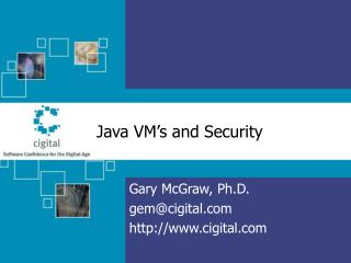 Java VM's and Security