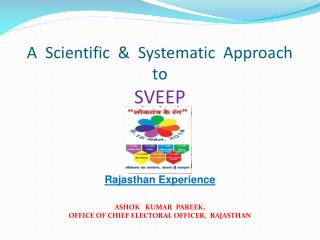 A  Scientific  &  Systematic  Approach  to  SVEEP Rajasthan Experience