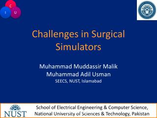 Challenges in Surgical Simulators