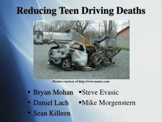 Reducing Teen Driving Deaths