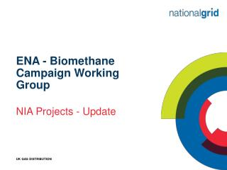 ENA - Biomethane Campaign Working Group