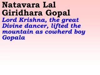 Old 739_New 882 Natavara Lal Giridhara Gopal