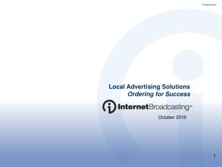Local Advertising Solutions Ordering for Success