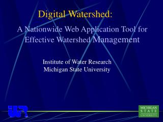 Digital Watershed: