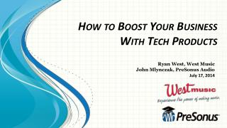How to Boost Your Business With Tech Products
