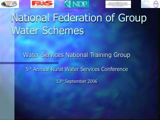 National Federation of Group Water Schemes