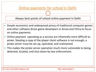An Easy Guide to the Different Types ofonline payment for sc