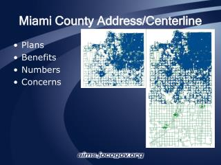 Miami County Address/Centerline