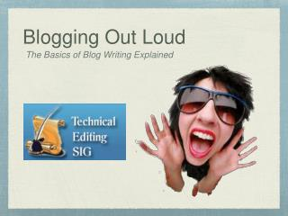 Blogging Out Loud