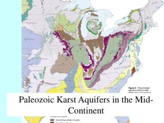 Paleozoic Karst Aquifers in the Mid-Continent