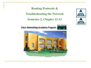 Routing Protocols & Troubleshooting the Network Semester 2, Chapter 12-13