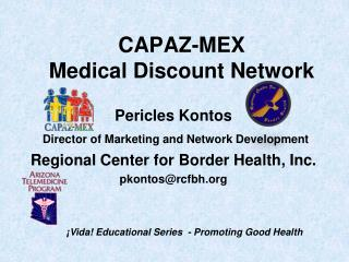 CAPAZ-MEX Medical Discount Network