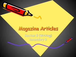 Magazine Articles