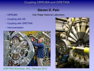 Coupling ORRUBA and GRETINA