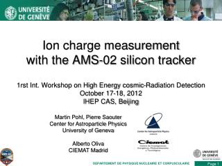 Ion charge measurement with the AMS-02 silicon tracker