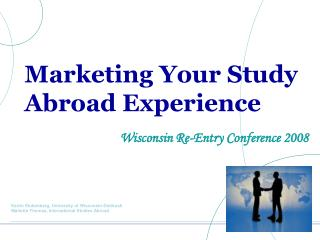 Marketing Your Study Abroad Experience