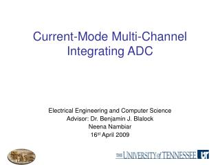 Current-Mode Multi-Channel Integrating ADC