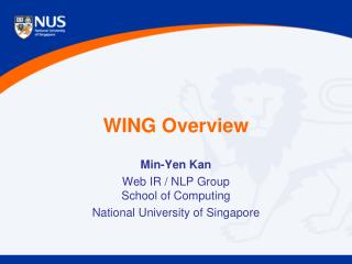 WING Overview