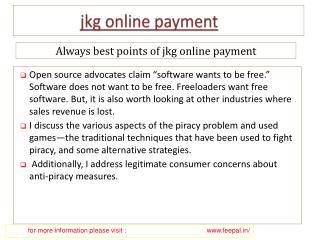 Get the Best Affordable Services of jkg school online paymen