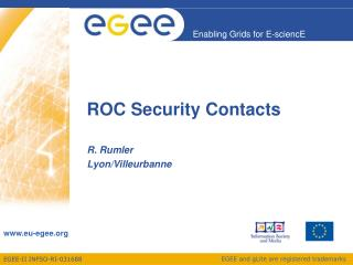 ROC Security Contacts