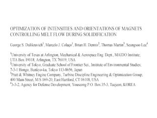 Constrained optimization algorithms