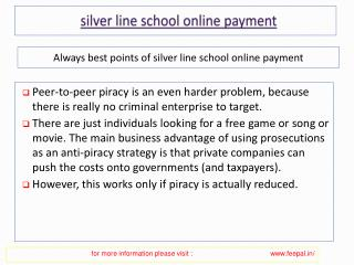 Some Efficient Ways to Secure the payment for silver line sc