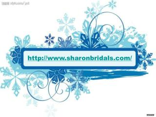 Buying cheap wedding dress in sharonbridals.com