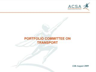 PORTFOLIO COMMITTEE ON TRANSPORT