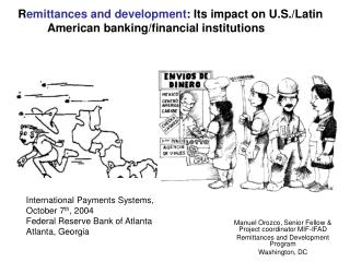 R emittances and development :  Its impact on U.S./Latin American banking/financial institutions