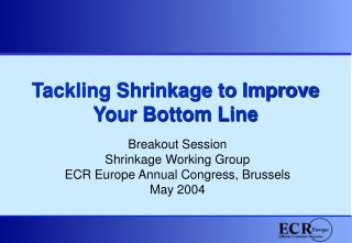 Tackling Shrinkage to Improve Your Bottom Line